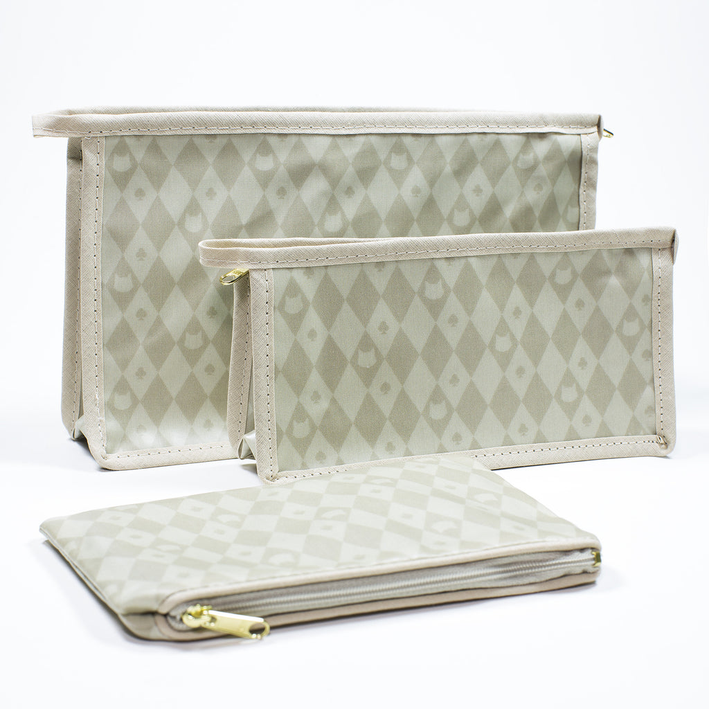 Lady Dinahs Exclusive Cosmetic Bags - cream