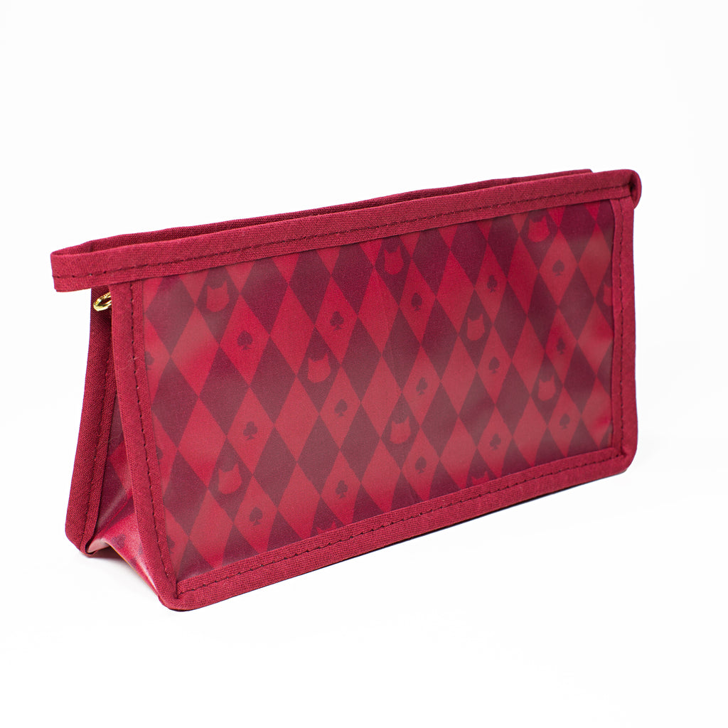 Lady Dinahs Exclusive Cosmetic Bags - burgundy - medium
