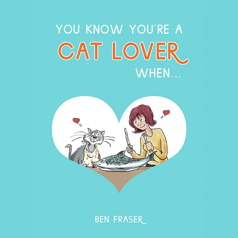 London Cat Cafe - book - You know you're a cat lover