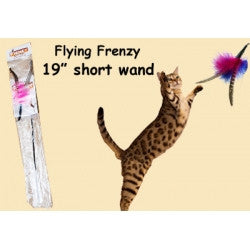 The Flying Frenzy Cat Toy