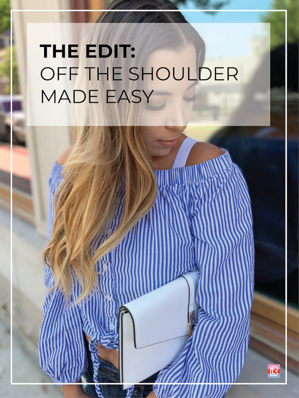 OFF THE SHOULDER MADE EASY