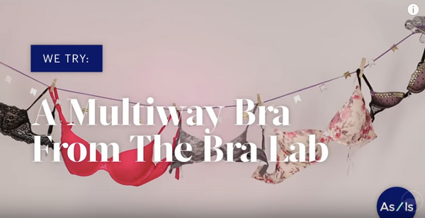 BuzzFeed As/Is X The Bra Lab