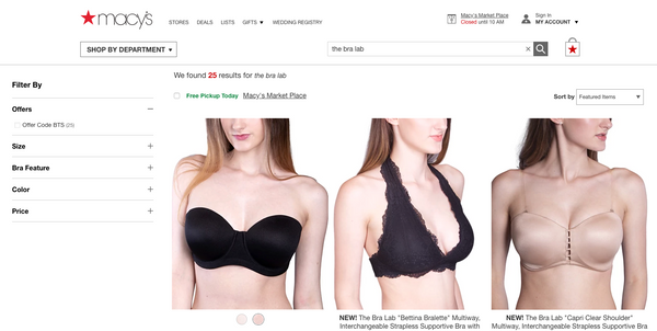 The Bra Lab x Macy's