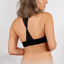 Load image into Gallery viewer, Catalonian Lace & Leather Back Band 2-in-1