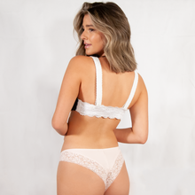 Load image into Gallery viewer, Cotton Lace Cheeky 2 Pack Underwear