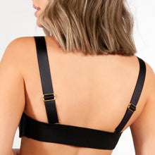 Load image into Gallery viewer, Gold Coast Black 1 inch Straps