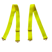 Load image into Gallery viewer, Bahia Neon Yellow 1 Inch Straps