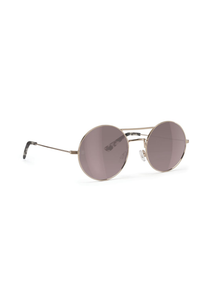 The End Sunglasses in Rose Gold