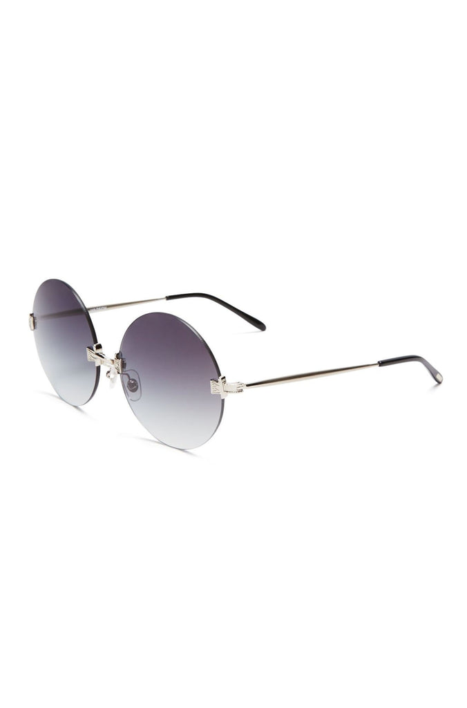 Wildfox Pearl Sunglasses in Antique Silver/Black|ISHINE365 - 2