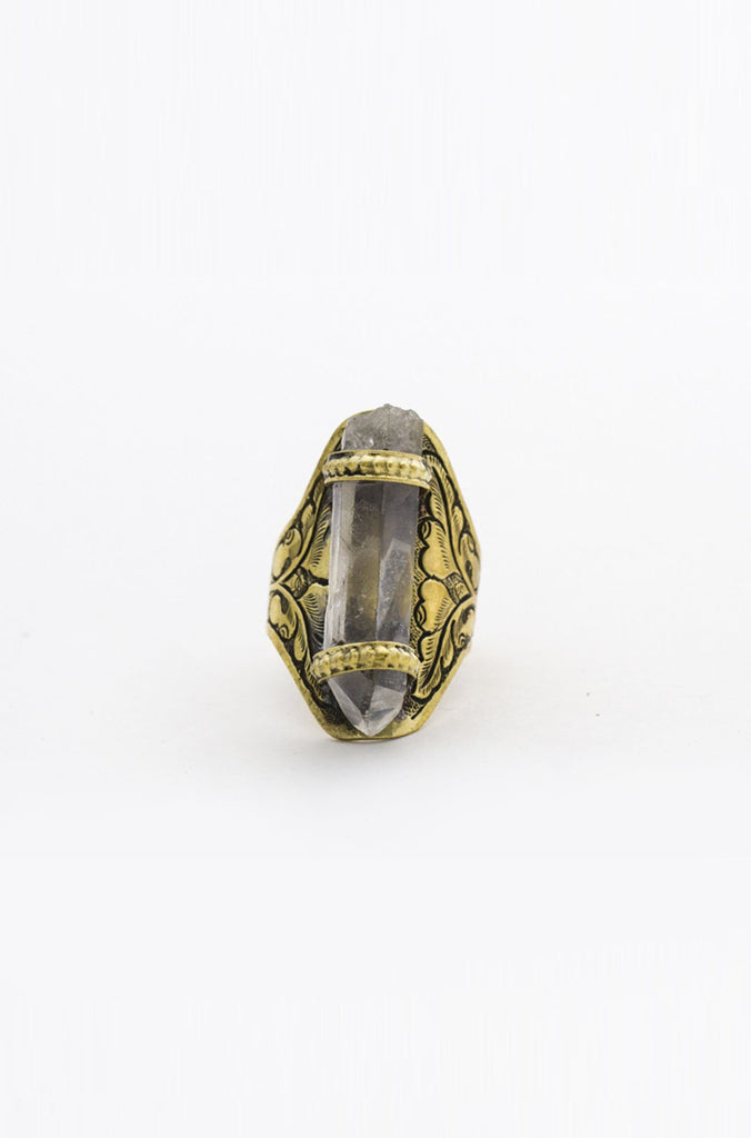 Natalie B Jewelry Raw Crystal Ring|ISHINE365 - 2