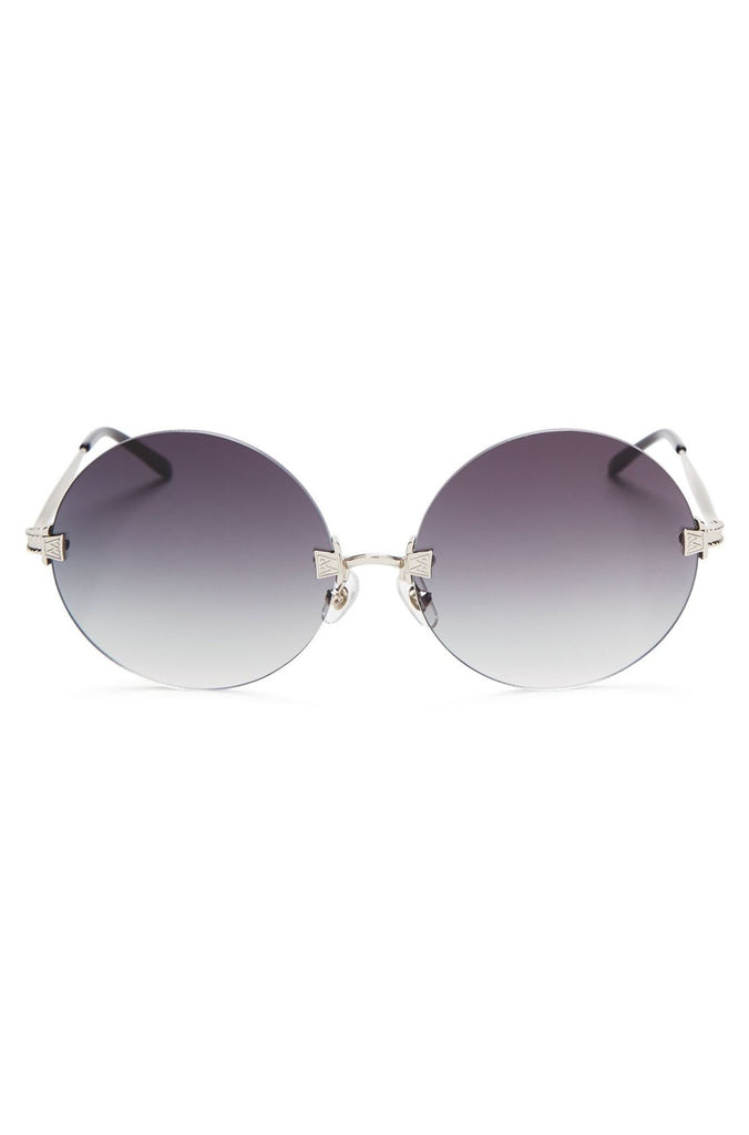 Wildfox Pearl Sunglasses in Antique Silver/Black|ISHINE365 - 1