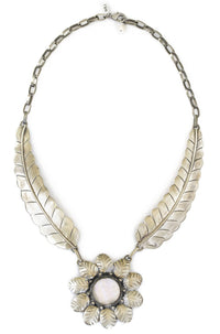 Natalie B Jewelry Two Raven El Sol Necklace in Abalone|ISHINE365 - 1