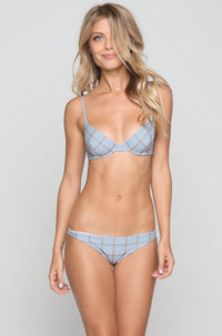 Waikoloa Stitch Bikini Bottom in Sky/Beach Babe