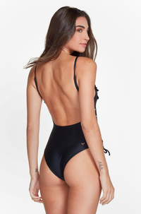 Blanca One Piece in Black