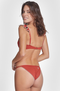 Valentina Bikini Bottom in Red