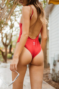 Love Your Body One Piece in Red