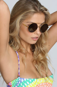 WILDFOX 2015 Starstruck Sunglasses in Gold|ISHINE365 - 4