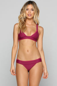 House of Au+ORA Fame Bikini Bottom in Syrah|ISHINE365 - 4