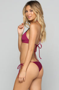 House of Au+ORA Le Freak Bikini Bottom in Syrah|ISHINE365 - 3