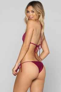 House of Au+ORA Le Freak Bikini Bottom in Syrah|ISHINE365 - 1