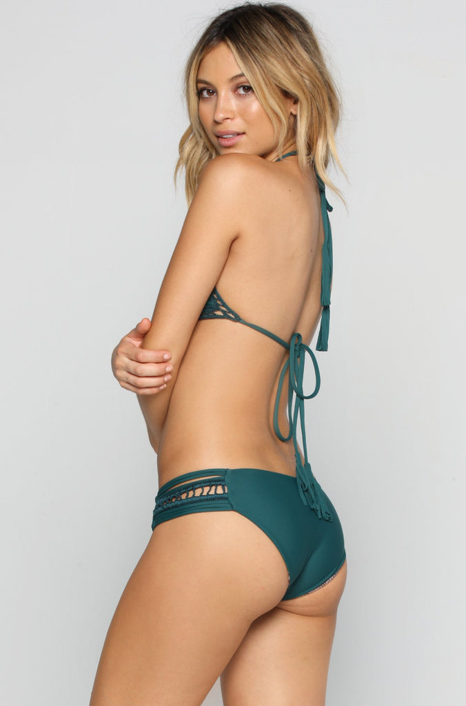ACACIA RESORT Bingin Bikini Bottom in Seaweed|ISHINE365 - 1