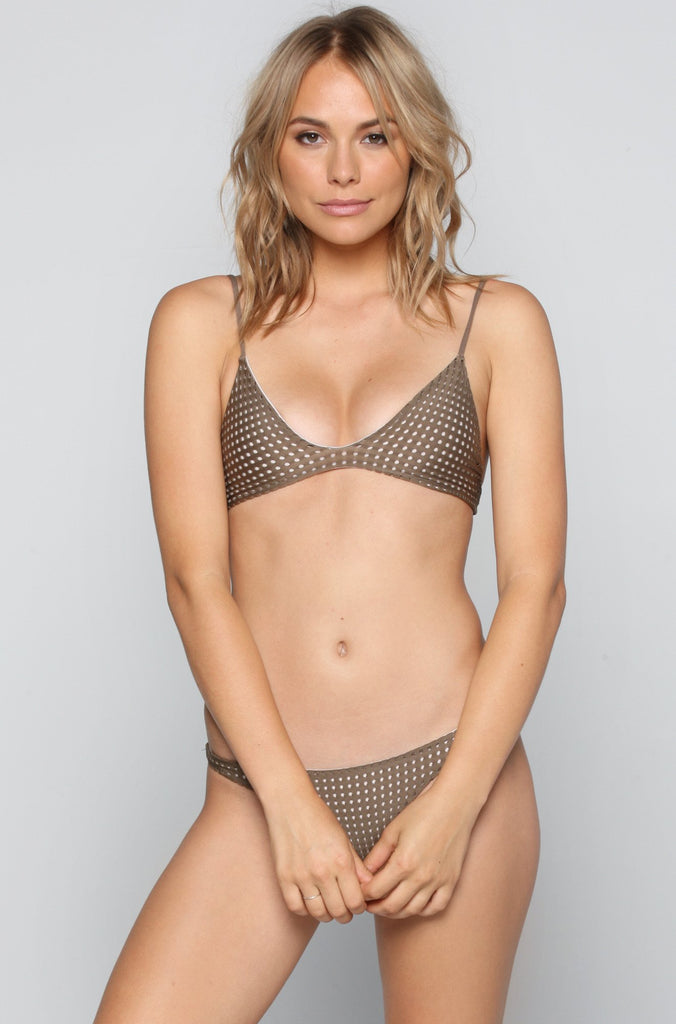 ACACIA RESORT Pipeline Mesh Bikini Bottom in Opihi/Foam|ISHINE365 - 3