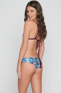 Kailua Bikini Bottom in Rose Tapa