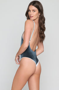 Dylan One Piece in Teal