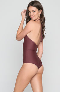 Teahupo'o One Piece in Merlot