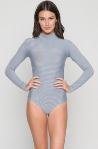 Ehukai Mesh One Piece in Sky/Beach Babe