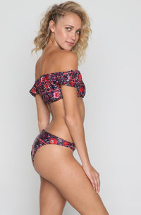 Janeiro Bikini Bottom in Gypsy Heart