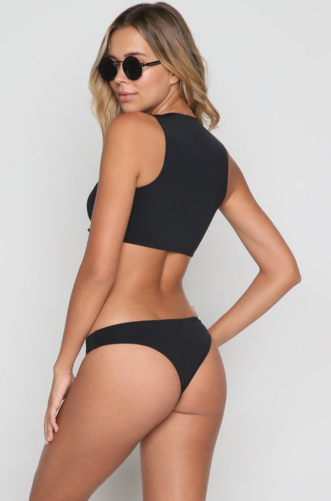 Cindy Bikini Bottom in Black