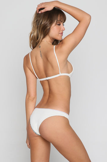 Bridgette Bikini Bottom in Ivory