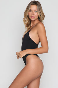 Jordyn One Piece in Black