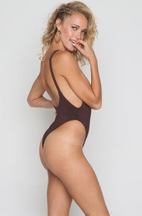Elle One Piece in Chocolate