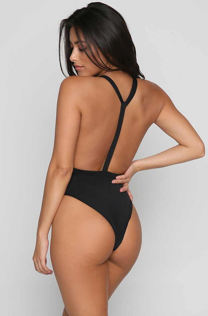 Carbon One Piece in Black