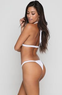 Outlaw Bikini Top in White
