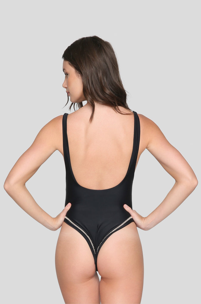 Bella One Piece in Black
