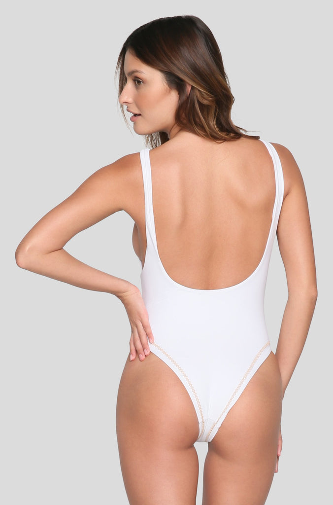 Bella One Piece in White