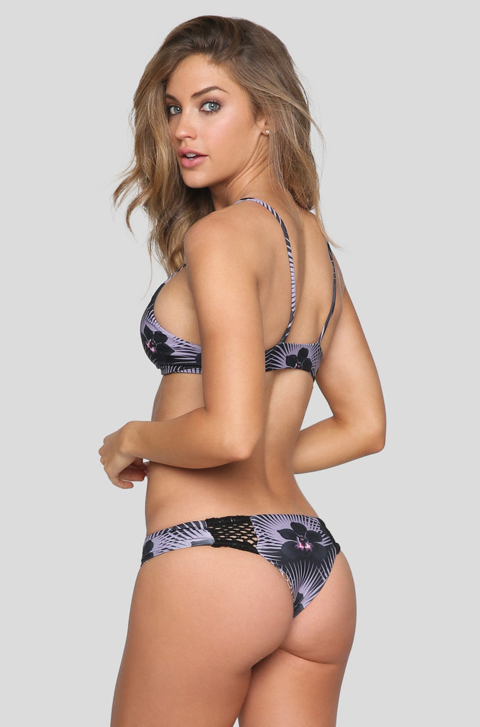 Poppy Bikini Bottom in Modern Pacific