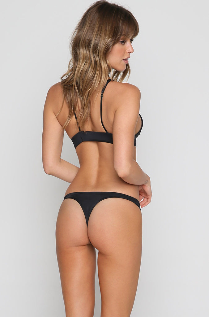 Mandy Bikini Bottom in Black