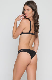 Line Up Isla Bikini Bottom in Black