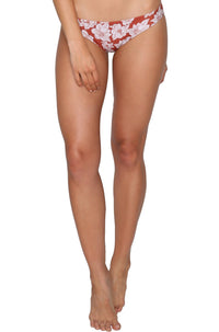 Nalima Bottom in Rust Magnolia