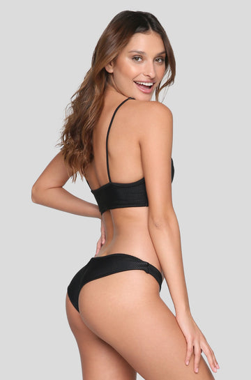 Greer Bikini Bottom in Black