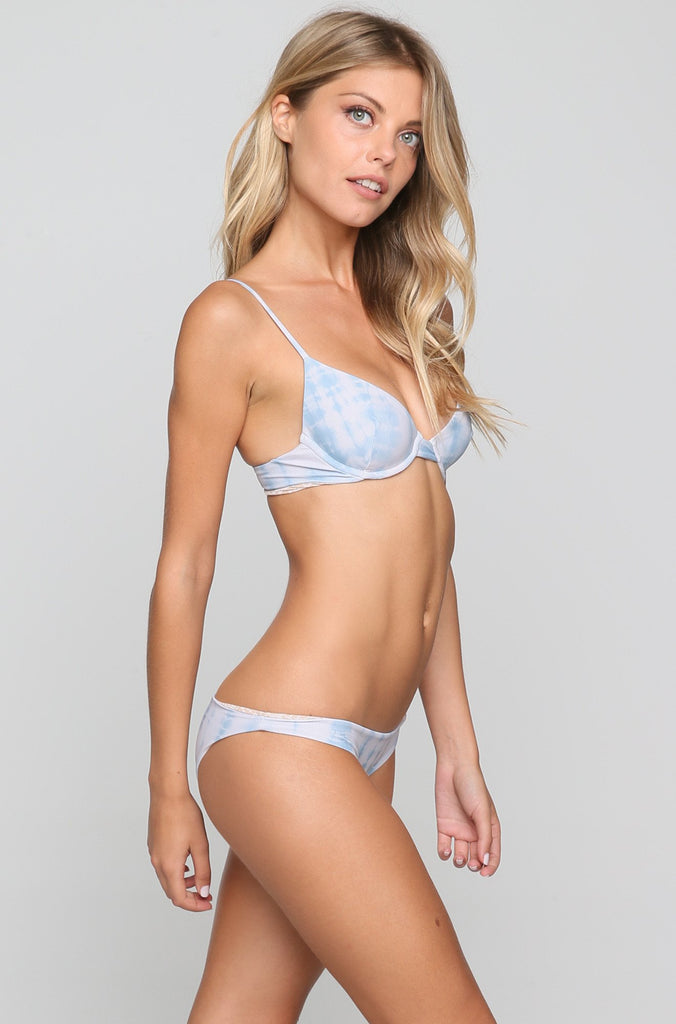 Manhattan Bikini Top in Shibori
