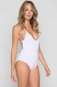Disco One Piece in White