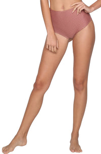 Seychelles Mesh Bottom in Lipstick Mesh