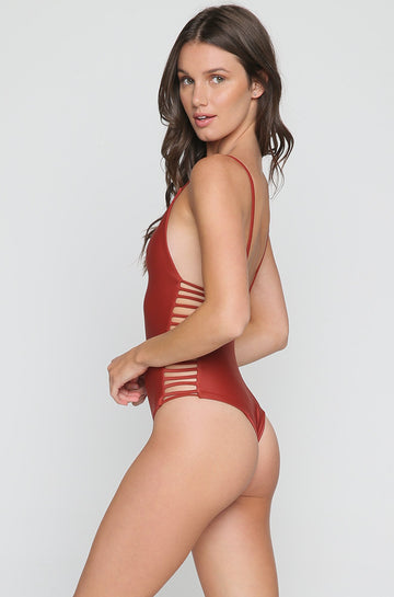 Hermosa One Piece in Red Sand