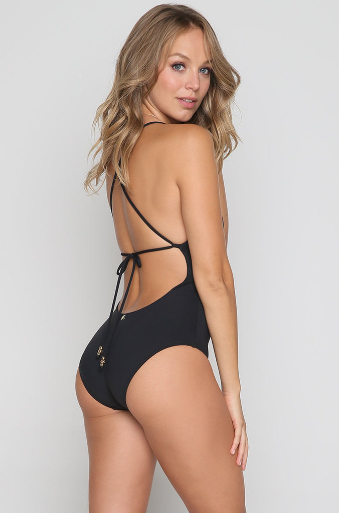 Disco One Piece in Black