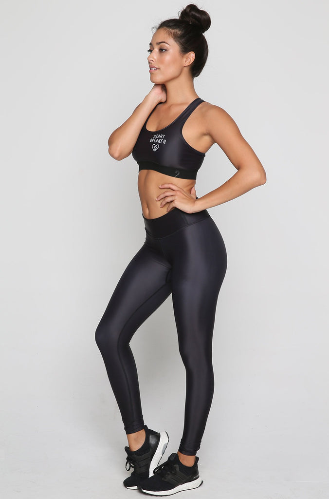Heartbreaker Sports Bra in Black